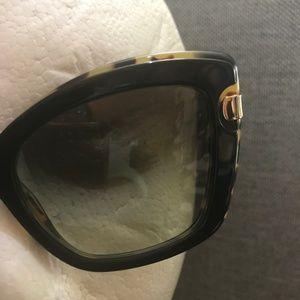 Salvatore Ferragamo Accessories - Ferragamo Brown Gradient Cat Eye Sunglasses SF814S
